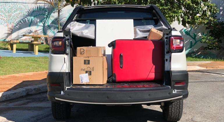 Outro item que auxilia a rodagem do carro mesmo com carga é a inclusão do controle de tração e estabilidade que são de série em todas as versões