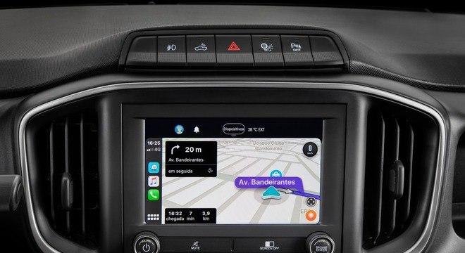 Quinta geração do sistema Uconnect traz conexão bluetooth e Android Auto além de Apple Carplay