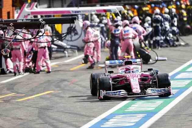 Stroll não conseguiu repetir o bom desempenho obtido no GP da Espanha