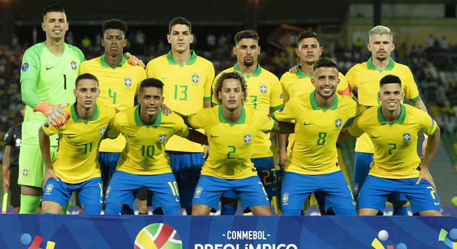 A seleção que se classificou no Pré-Olímpico da Colômbia
