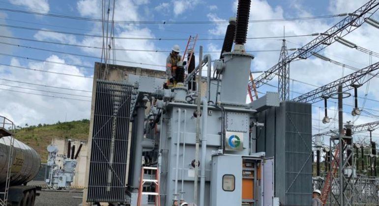 Subestação de energia no Amapá