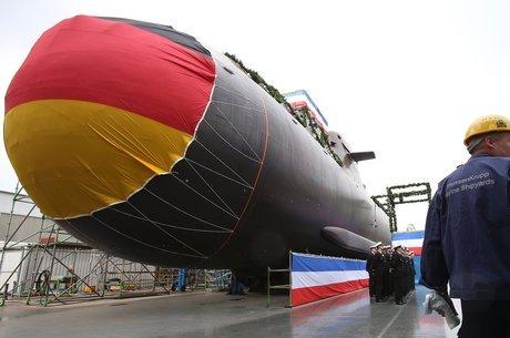 Nenhum dos submarinos 212A está em operação Receio de militarização