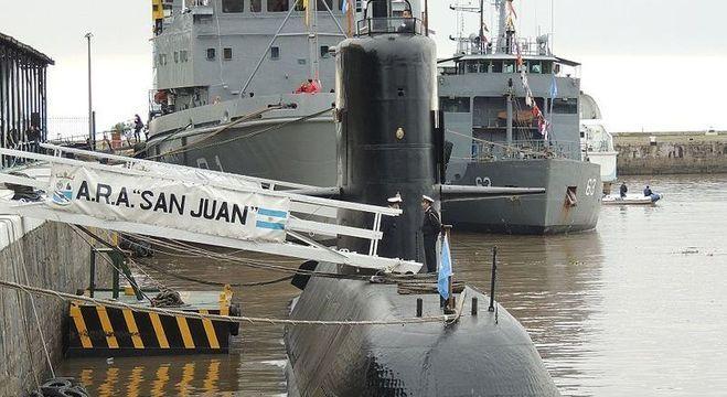 Destroços do submarino ARA San Juan está a mais de 900m de profundidade