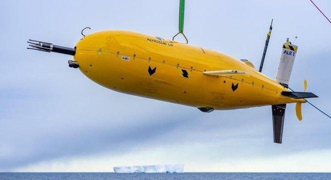 O robô submarino ultra resistente foi apelidado de Boaty McBoatface