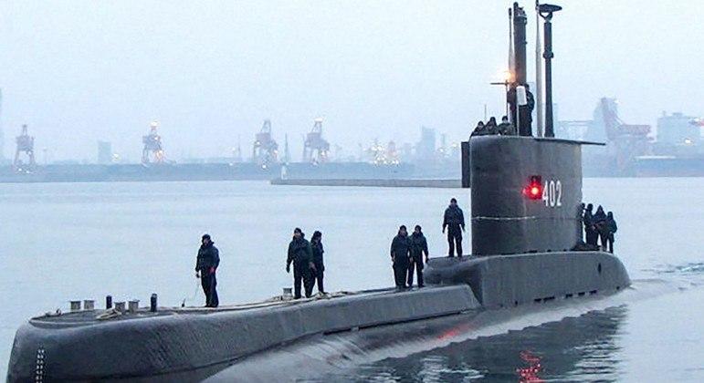 Em condições normais, o Nanggala 402 tem capacidade para ficar até 50 dias submerso