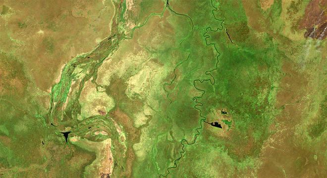 Região de Sudd: os micróbios em solos saturados produzem metano