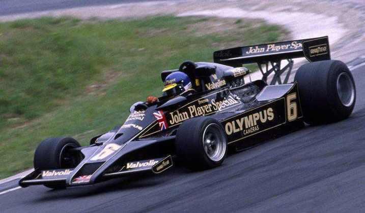 Suécia - Ronnie Peterson - GP da Áustria 1978.