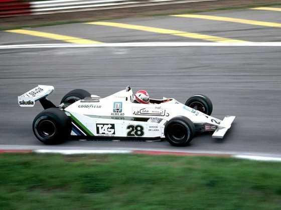 Suíça - Clay Regazzoni - GP da Inglaterra 1979.