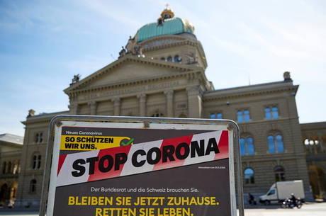 Em março, Suíça era um dos países mais afetados do mundo