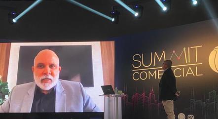 Marcus Vinícius Vieira, CEO da Record TV e Celso Teixeira, Diretor Nacional de Comunicação.