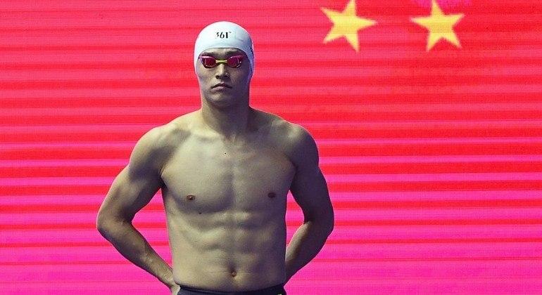 Sun Yang está fora dos Jogos Olímpicos de Tóquio