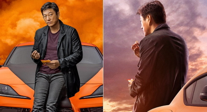 Sung Kang voltou a viver o querido personagem Han