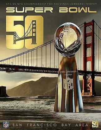 Super Bowl 50 - O novíssimo Levi's Stadium, casa do San Francisco 49ers recebeu a decisão entre Denver Broncos e Carolina Panthers. A vitória dos Broncos por 24  10 marcou a despedida de Peyton Manning do futebol americano.