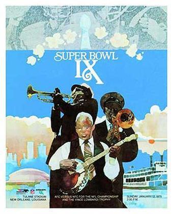 Super Bowl IX - Em sua primeira aparição em um SB, o Pittsburgh Steelers passou pelo Minnesota Vikings por 16 a 6. Terceira derrota da franquia de Minneapolis na grande decisão da NFL.