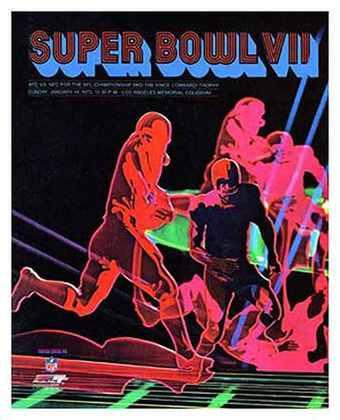Super Bowl VII - Um ano após a derrota para os Cowboys, a vitória por 14 a 7 sobre o Washington Redskins assegurou o primeiro Super Bowl para o Miami Dolphins.