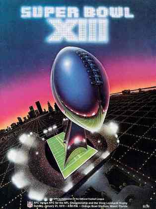 Super Bowl XIII - Miami foi testemunha do duelo envolvendo Pittsburgh Steelers e Dallas Cowboys, duas franquias em busca do terceiro anel de Super Bowl. No fim, vitória apertada dos Steelers por 35 a 31.
