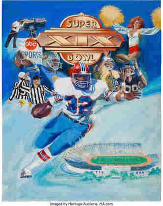 Super Bowl XIX - Três anos depois de conquistar seu primeiro Super Bowl, o San Francisco 49ers venceu o Miami Dolphins e levou o Vince Lombardi para o norte da Califórnia pela segunda vez.
