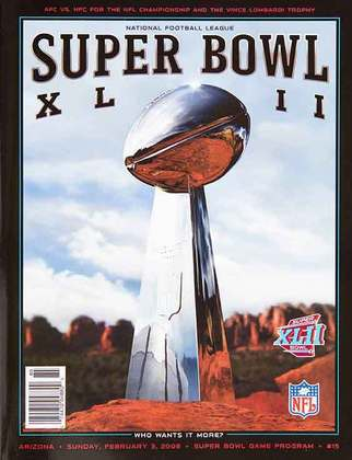 Super Bowl XLII - A zebra passeou com o New York Giants impedindo a campanha perfeita do New England Patriots. O triunfo dos Giants por 17 a 14 é um dos maiores upsets de todos os tempos no futebol americano.