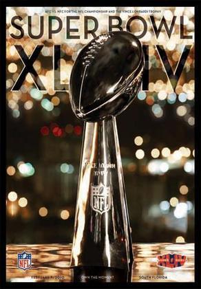 Super Bowl XLIV - Comandados por um Drew Brees decisivo, o New Orleans Saints faturou seu primeiro SB ao derrotar Peyton Manning e o Indianapolis Colts, por 31 a 17.