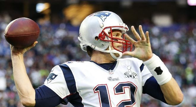 Super Bowl XLIX: New England Patriots 28 x 24 Seattle Seahawks. Data: 01/02/2015. Temporada 2014.