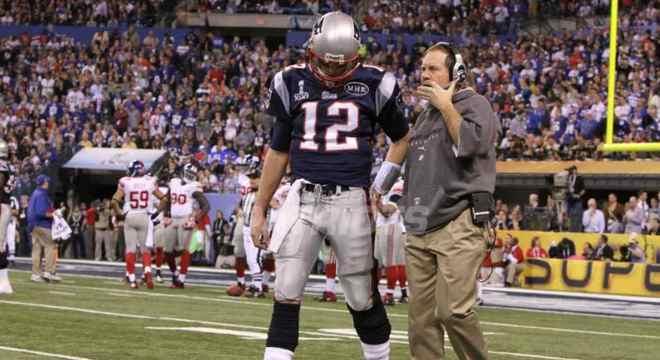 Super Bowl XLVI: New England Patriots 17 x 21 New York Giants. Data: 05/02/2012. Local: Indianapolis. Temporada 2011.