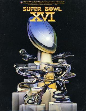 Super Bowl XVI - San Francisco 49ers e Cincinnati Bengals alcançaram o Super Bowl pela primeira vez e a vitória ficou com a franquia californiana, por 26 a 21.