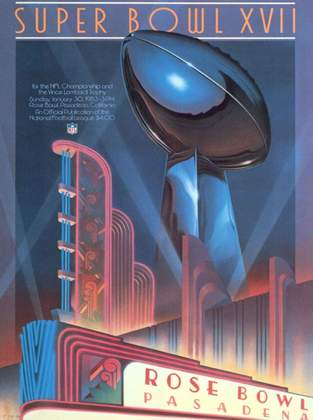 Super Bowl XVII - Uma década após ser derrotado em seu primeiro Super Bowl, o Washington Redskins venceu o Miami Dolphins, na Califórnia, por 27 a 17.