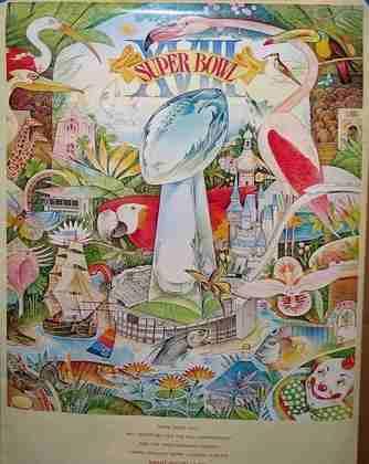 Super Bowl XVIII - Dois anos após de mudar para Los Angeles, os Raiders derrotaram o Washington Redskins, garantindo o terceiro anel da franquia.