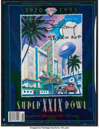 Super Bowl XXIX -San Francisco 49ers e San Diego Chargers decidiram o Super Bowl XXX, na ensolarada Miami. No final, filme repetido com a vitória de 49 a 26 dos 49ers e quinta conquista de SB para os Niners.