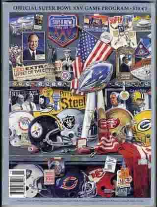Super Bowl XXV - Um erro do kicker Scott Norwood ao chutar um field goal de 47 jardas, faltando oito segundos para o final garantiu o segundo Super Bowl do New York Giants, que derrotou o Buffalo Bills, por 20 a 19, em Tampa.