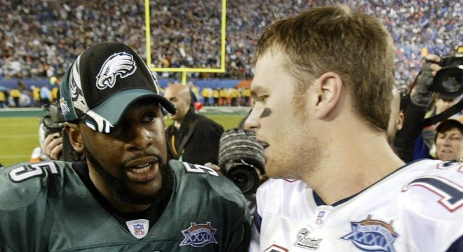 Super Bowl XXXIX: New England Patriots 24 x 21 Philadelphia Eagles. Data: 06/02/2005. Local: Jacksonville. Temporada 2004