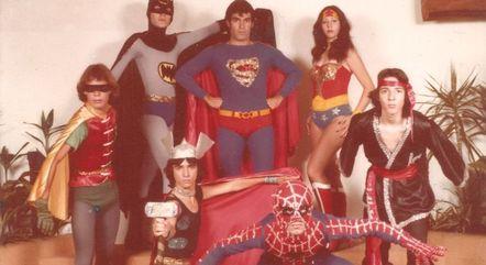 O supergrupo em foto promocional