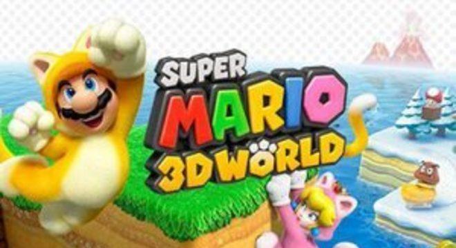 Super Mario 3D World Deluxe para Switch aparece em loja americana
