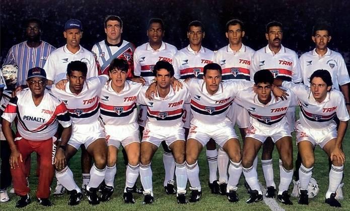 Supercopa 1993 - São Paulo x Flamengo. Campeão: São Paulo. Tricolor e Rubro-Negro se encontraram na Supercopa da Libertadores e o clube do Morumbi levou a melhor. Após dois empates por 2 a 2, o São paulo venceu nos pênaltis, por 5 a 3.