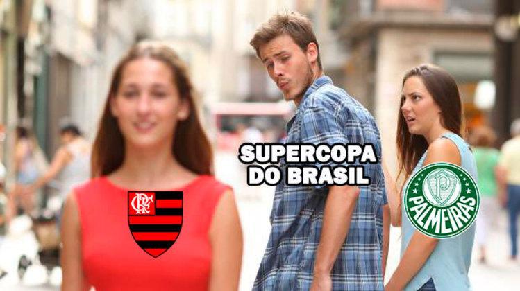 Supercopa do Brasil: os memes e zoeiras da final entre Flamengo e Palmeiras