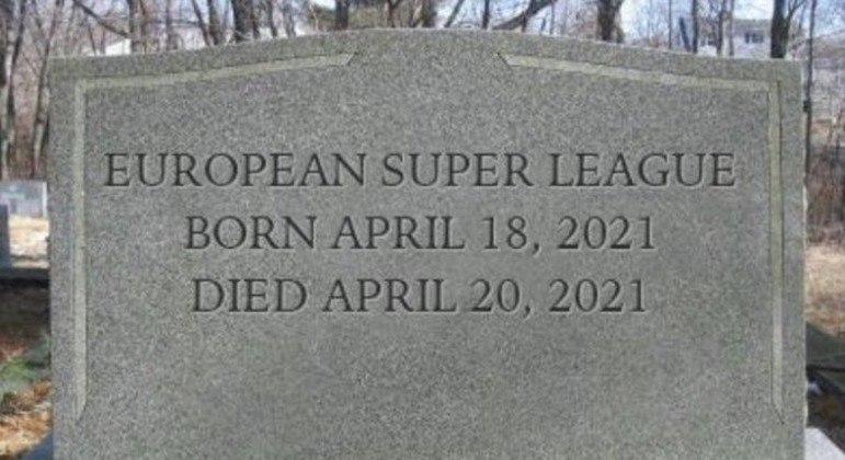 "Uma ironia que rapidamente viralizou nas ""redes sociais"" de torcedores na Europa"