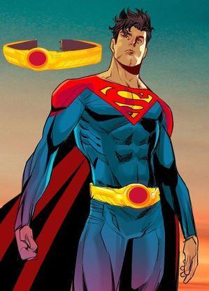O novo uniforme do Superman