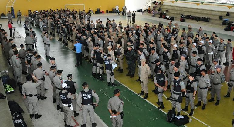 Suplentes, PM, Polícia Militar