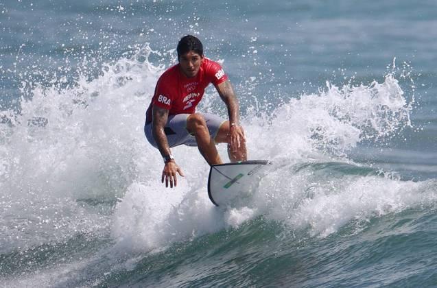 No primeiro dia de baterias do surfe na história dos Jogos Olímpicos, os brasileiros deram um verdadeiro show. E todos eles se garantiram nas oitavas de final sem precisar sequer da repescagem