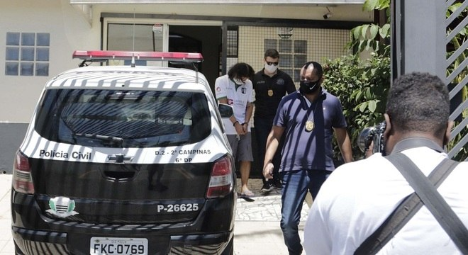 Suspeito é detido em Campinas, no interior de São Paulo, como parte da Operação Black Dolphin