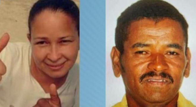 Aline, morta no sábado (7) e José, encontrado morto neste domingo (15)