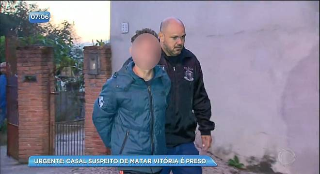 Casal é preso temporariamente por suspeita de envolvimento no caso Vitória