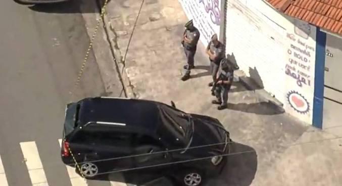 Dois suspeitos foram localizados na zona leste de São Paulo, na tarde desta terça (15)