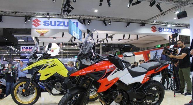 Suzuki V-Strom 1050 ganhou novo design e motor mais potente / Foto: MinutoMotor/GalaxyNote10