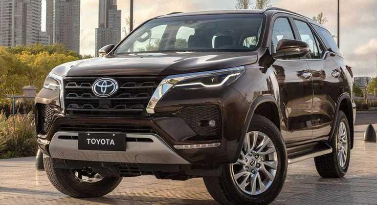 Toyota divulgou hoje (8) que SW4 terá seu primeiro aumento de preços