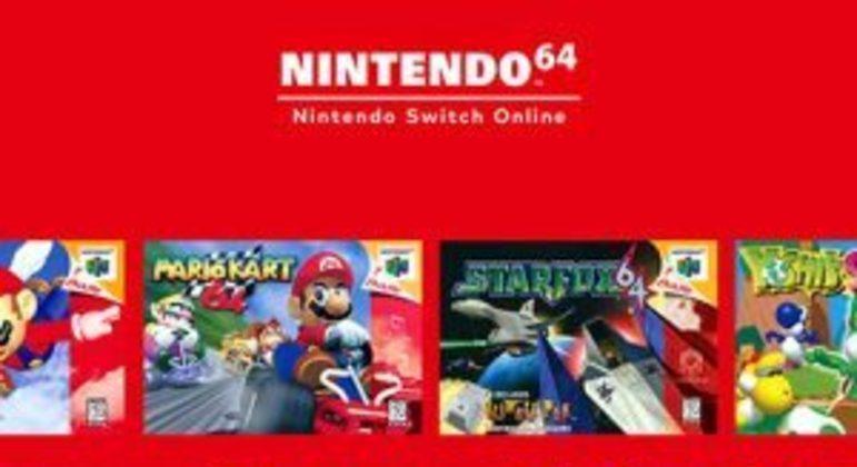 Switch Online terá jogos e controles do Nintendo 64 e Mega Drive
