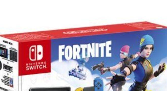 Switch terá edição especial baseada em Fortnite