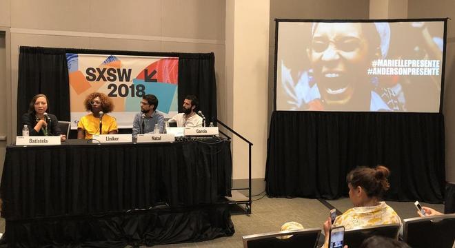 Painel debateu a importância de artistas na defesa da democracia no Brasil