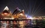 Agora, cerca de três quartos da energia elétrica que Sydney consome são geradas por energia eólica e um quarto é gerado por energia solar