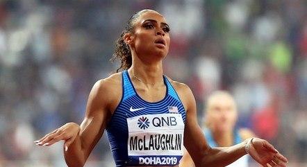 McLaughlin baixou em 26 centésimos recorde anterior